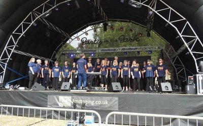 PSG Rocked it at Melksham Party in the Park